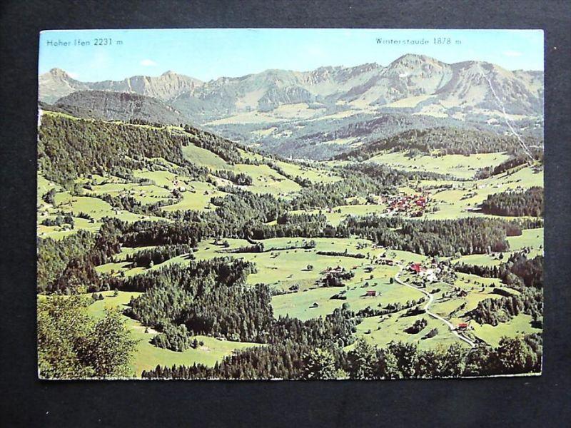 KRUMBACH Bregenzer Wald Bregenz Vorarlberg - Talblick 1978