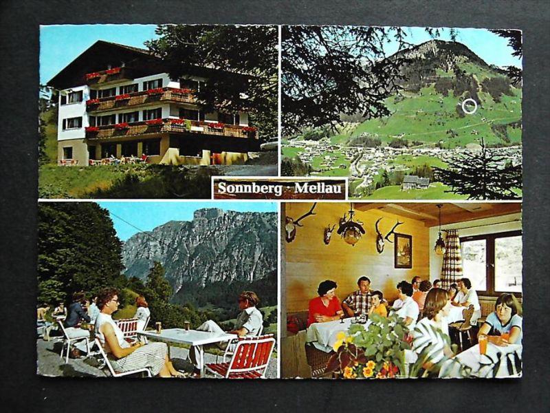 MELLAU Bregenzer Wald Bregenz Vorarlberg - Gasthaus SONNBERG + innen