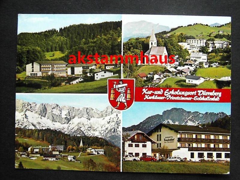 DÜRRNBERG Hallein Tennengau Salzburg - z. B. KRANZBICHLERHOF Autos VW