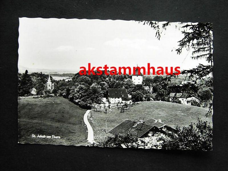 ST. JAKOB AM THURN Puch Hallein Tennengau Salzburg - Foto-AK - Ortspartie - 1970