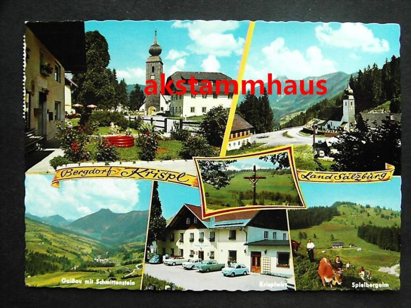 KRISPL GAISSAU Adnet Hallein Tennengau Salzburg - z. B. KRISPLWIRT Autos - Spiegelbergalm Kühe