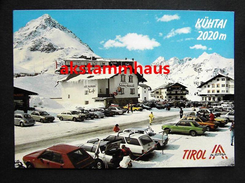Kuhtai Silz Imst Tirol Gasthof Schone Aussicht Im Winter Viele Autos Nah