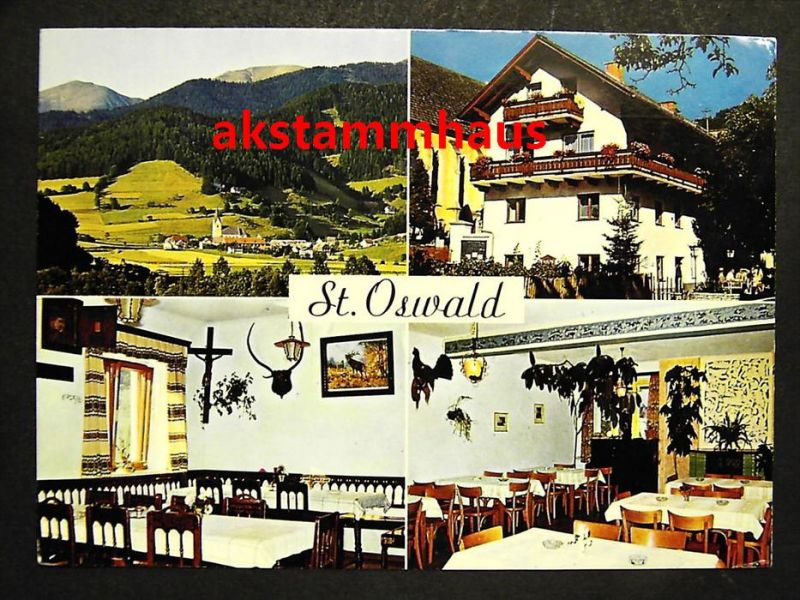 SANKT OSWALD MÖDERBRUGG Murtal Judenburg Steiermark - Gasthof Pension PRIPFL + innen