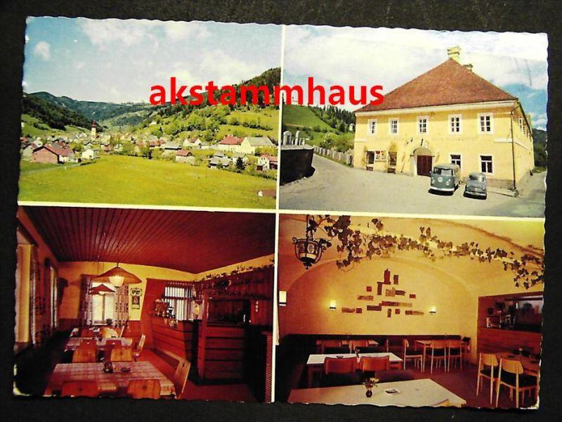 OBERZEIRING Murtal Judenburg Steiermark - z. B. Gasthof HAUNSCHMIDT + innen - 1974