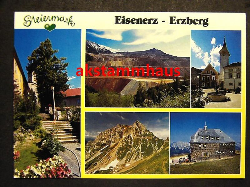 EISENERZ Leoben Steiermark - z. B. Ortspartie - Reichensteinhütte