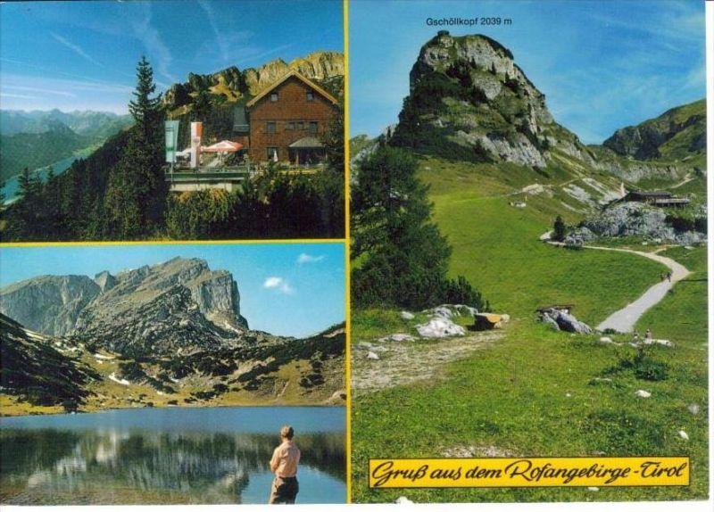 AURACH am Achensee Schwaz Tirol - z. B. ERFURTER HÜTTE Rofanggebirge