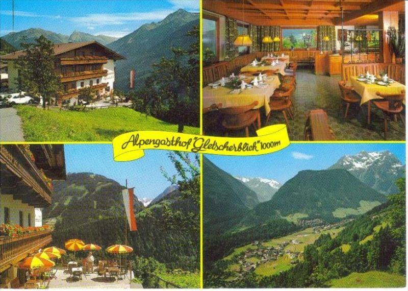 FINKENBERG Zillertal Schwaz Tirol - Alpengasthof GLETSCHERBLICK + innen