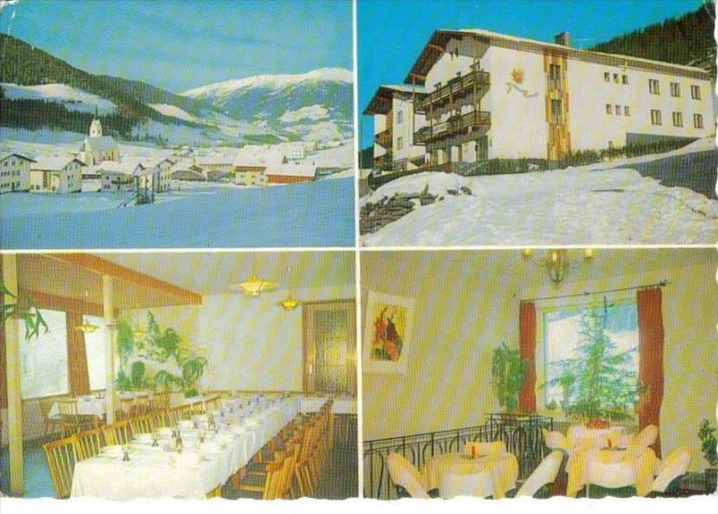 KARTITSCH Lienz Tirol - Gasthof SONNBLICK im Winter + innen - Fam. LUSSER