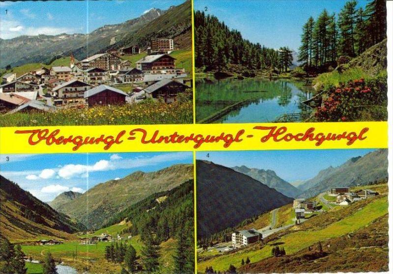 GURGL  Sölden Imst Tirol - Ansichten Hoch-, Ober-, Untergurgl