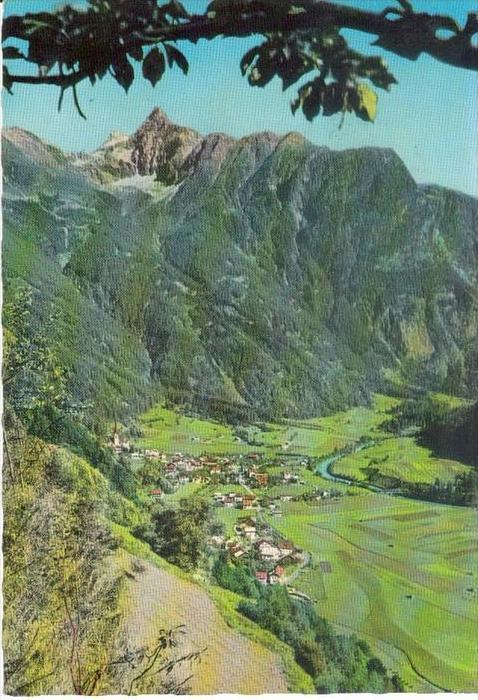 OETZ Oetztal Imst Tirol - Talblick - 60er Jahre