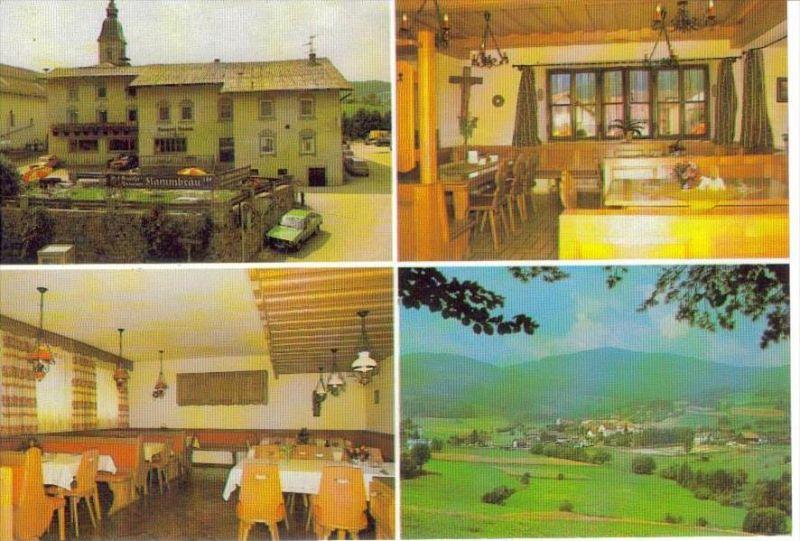 ZENTING Thurmansbang Freyung Grafenau - Gasthof Brauerei KAMM + innen