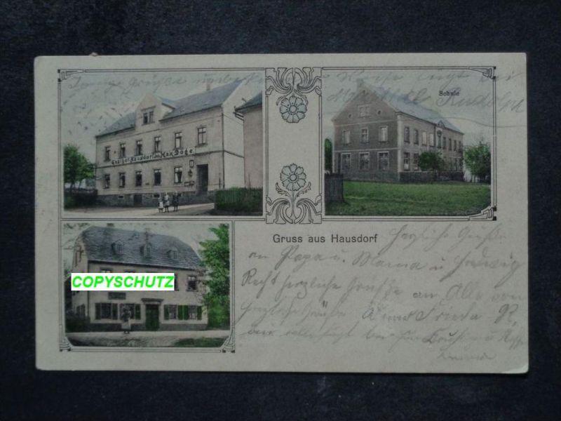 HAUSDORF Colditz Leipzig - z. B. Gasthof M. DÖGE - col. - 1911 Nr ...