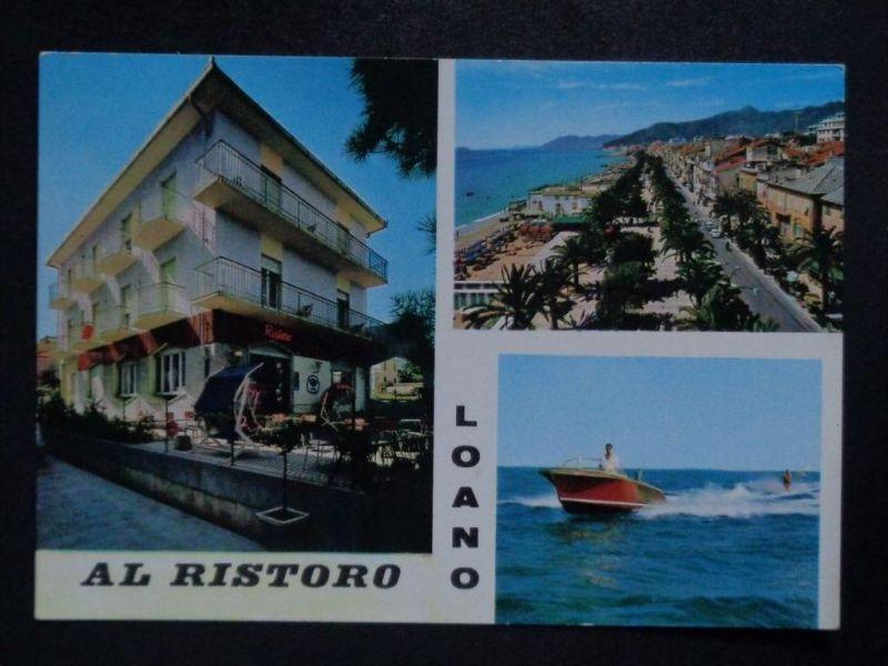 LOANO Savona Ligurien - Pensione AL RISTORO Motorboot