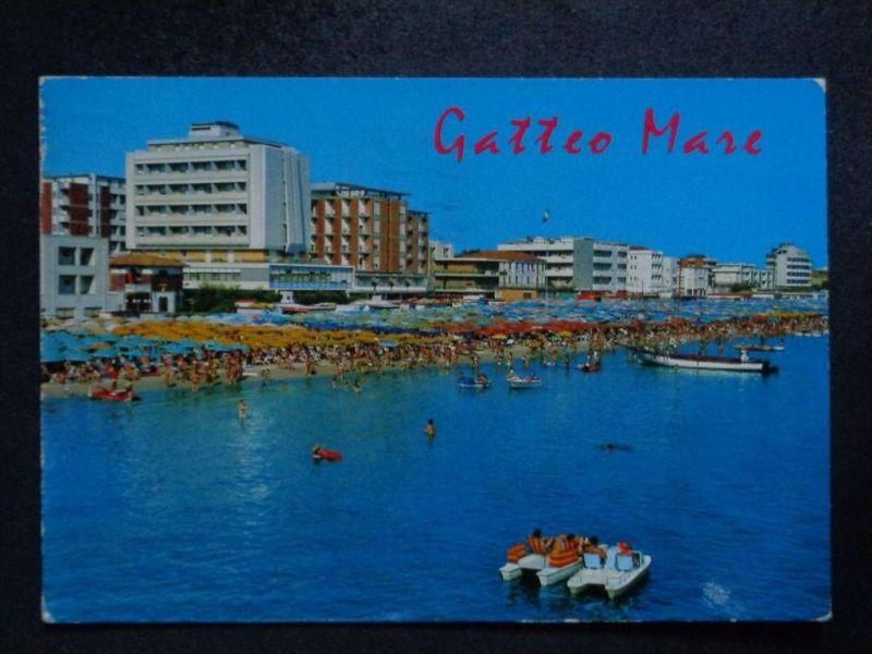GATTEO MARE Forli-Cesena  Emilie Romagna -  Hotels Tretboot - 1978