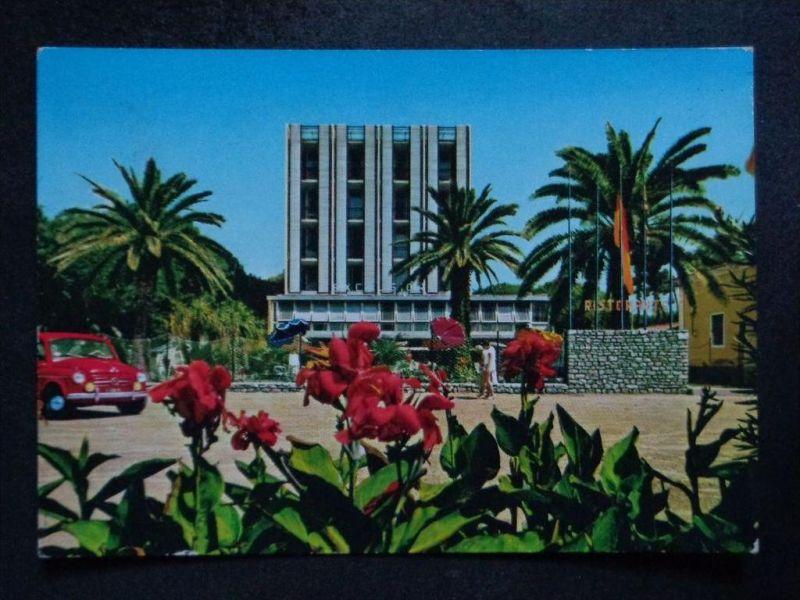 MARINA DI MASSA Carrara Toscana -  Hotel EXCELSIOR - Auto !  FIAT- 1965