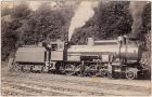 Lokomotivf�hrer vor Dampflokomotive Privatfoto Ansichtskarte 1929