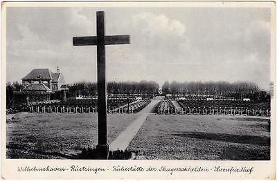 Rüstringen Wilhelmshaven Ehrenfriedhof-Skagarrakhelden 1932