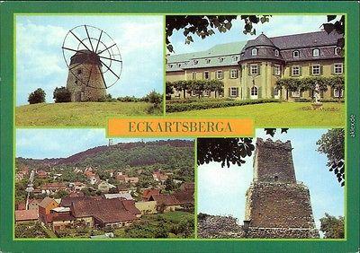 Eckartsberga Mühle, Kinderkurheim, Übersicht, Eckartsburg, Großer Bergfried 1984