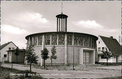 Ansichtskarte Barnstorf Kath. Kirche 1969