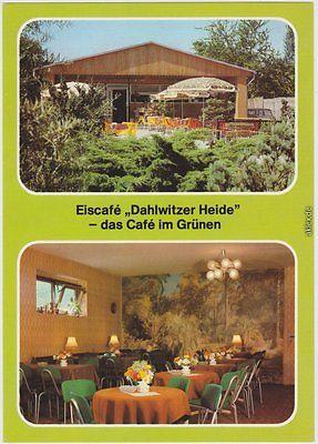 Ansichtskarte Mahlsdorf Berlin Eiskonditorei und Cafe, Inh. H. Müller 1984/1984