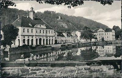 Ansichtskarte Bad Karlshafen 1717 -1935 Bad Carlshafen Am Hafen 1960