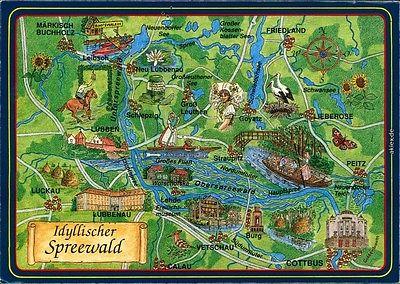 Karte Spreewald Lubbenau.Karte Lubbenau Spreewald Hanzeontwerpfabriek
