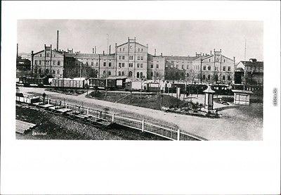 Ansichtskarte Zittau - Bahnhof DDR REPRO 1908/1980 Lichtbild Schirke