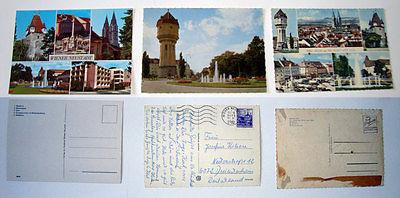 3 Ansichtskarten Wiener Neustadt ca 70er