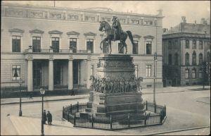 Berlin Palais Kaiser Wilhlem und Denkmal Friedrich des Großen 1919