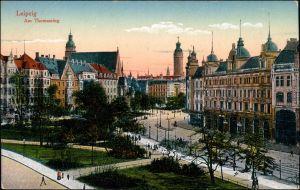 Ansichtskarte Leipzig Am Thomasring 1916