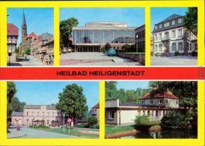 Heilbad Heiligenstadt Am Berge,  Rathaus Bahnhof  1980