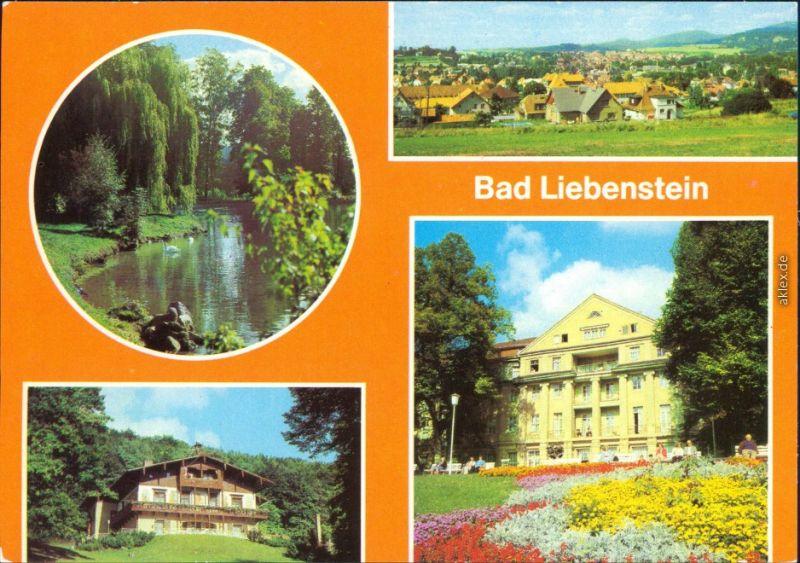 Bad Liebenstein Elisabethpark, Panorama, Heimgaststätte