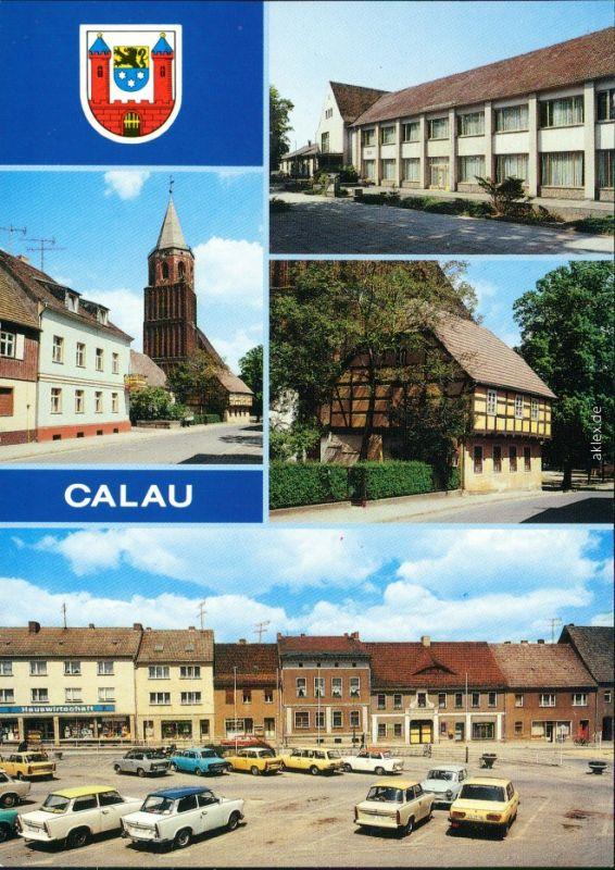 Calau   Gewerkschaft, Heimatmuseum, Platz des Friedens 1990