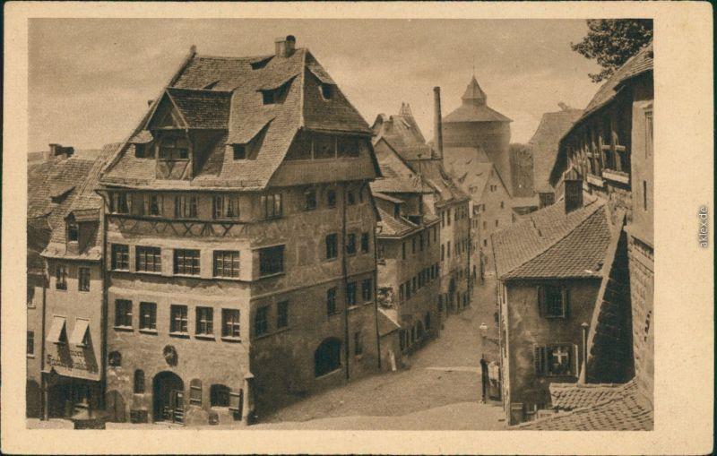 Ansichtskarte Nürnberg Albrecht-Dürer-Haus 1922