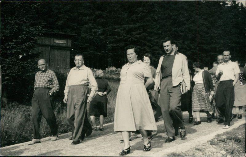 Schlesisch-Bystra Bystra Śląska Wandergruppe in den Beskiden 1960 Privatfoto