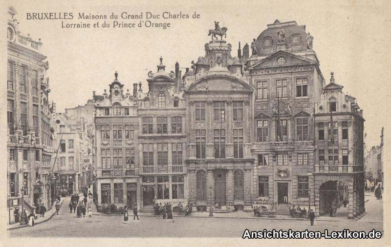 Brüssel Maisons du Grand Duc Charles de Lorraine et du P