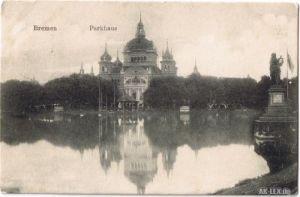 AK Bremen - Bürgerpark - Parkhaus gel 1908