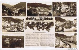 Wildbad Stadtteilansichten gel.1938