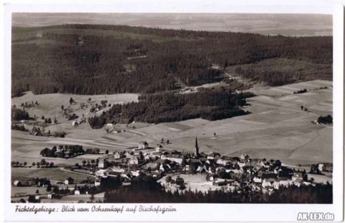 Bischofsgrün Fichtelgebirge - Blick vom Ochsenkopf...