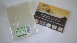 100 Ansichtskarten Schutzhüllen für Din-A6 neue Postkarten und Fotos 110x155mm