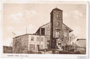 0 Mückentürmchen (Komáří hůrka) ca. 1920