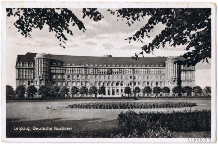 Leipzig Deutsche Bücherei ca. 1928