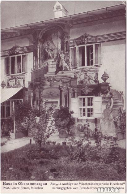 Oberammergau Haus in Oberammergau ca. 1930