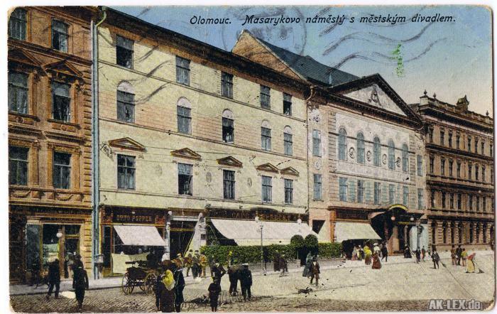 Olmütz Platz Masarykovo gel. 1932