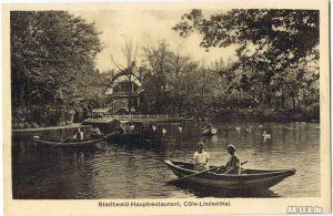 Lindenthal-Köln Stadtwald-Hauptrestaurant ca. 1924