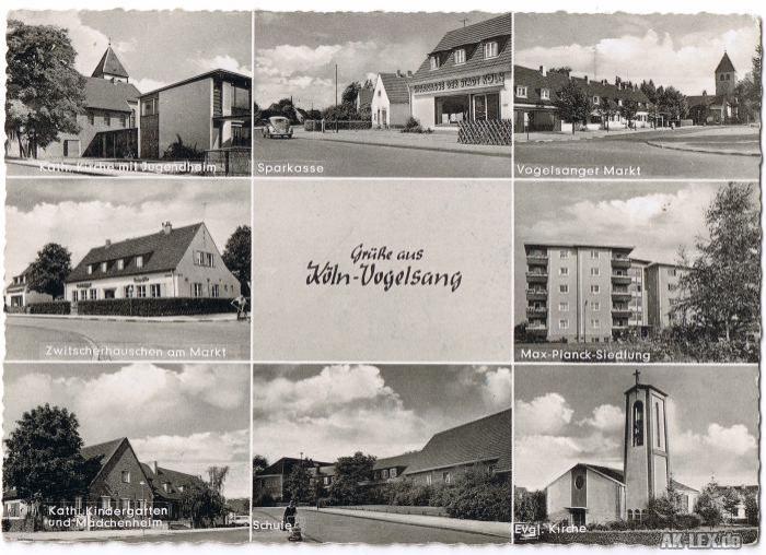 0 Stadtteilansichten ca. 1960/70