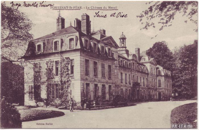 Fontenay-Saint-Père Le Château du Mesnil