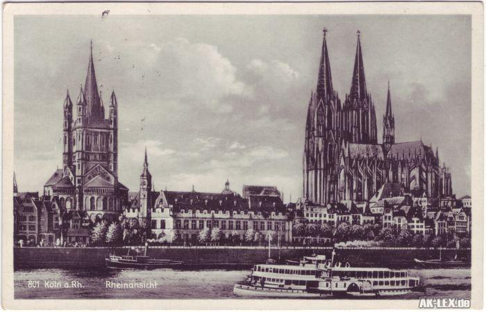 Köln Dom u. St. Martin