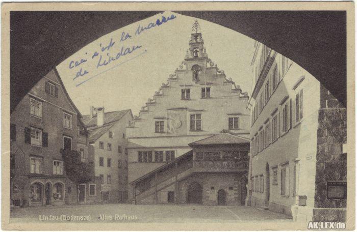 Lindau (Bodensee) Altes Rathaus