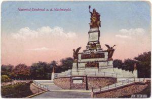 Rüdesheim (Rhein) National-Denkmal a. d. Niederwald